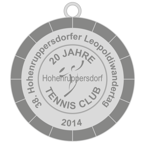 2014-Medaille-Leopoldiwandertag Hohenruppersdorf