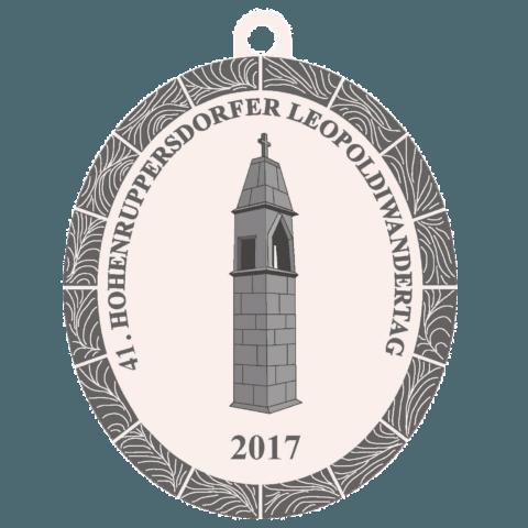 2017-Medaille-Leopoldiwandertag Hohenruppersdorf