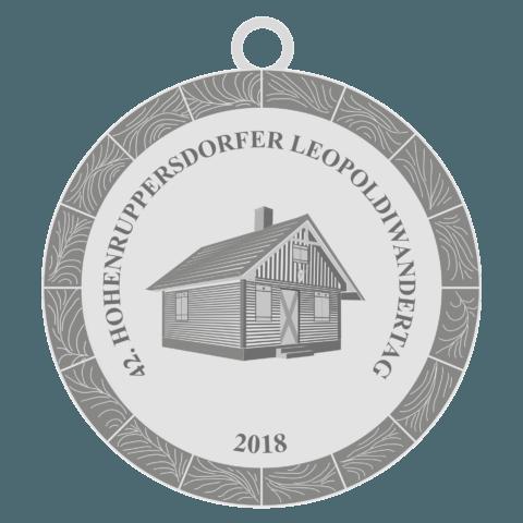42.Leopolidwandertag Medaille Hohenruppersdorf